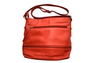 leather bag, red bag, osgood marley
