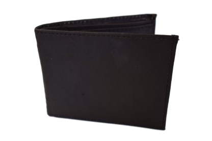 black wallet, leather wallet