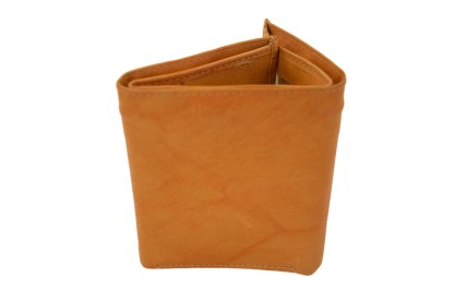 trifold wallet, tan wallet, leather wallet