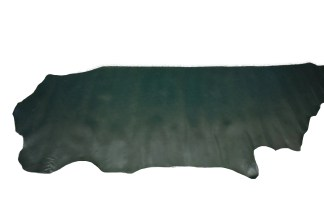 forest green leather, dark green leather