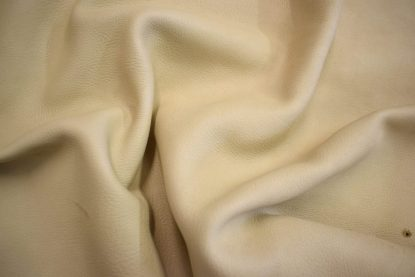 cream deerskin, beige deer leather