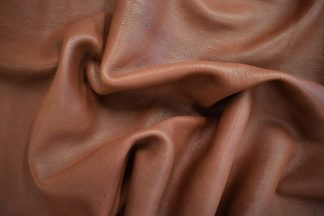 medium brown deerskin, mahogany deerskin
