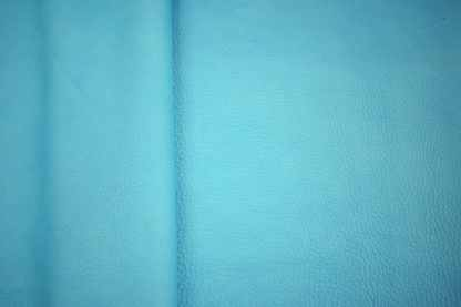 turquoise bison leather, turquoise leather