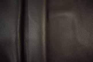Black bullhide leather