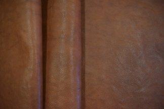 Chocolate Milled Hermann Oak Leather