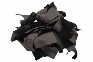 Black Scrap Leather