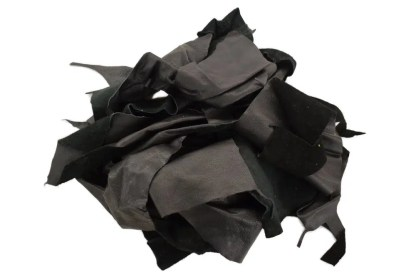 Black Scrap Leather