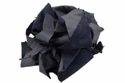 Navy Scrap Leather