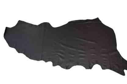 Black Biker Leather Side