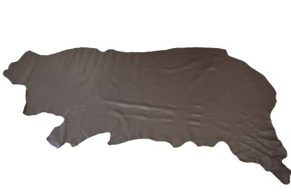 Brown Biker Leather Side