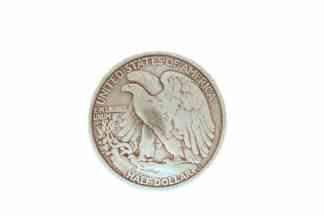 Half-Dollar concho, Eagle concho