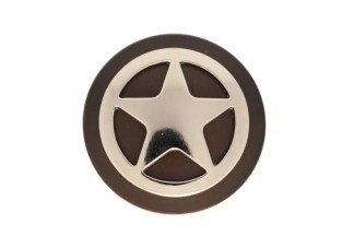 Round concho, Star concho