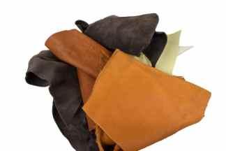 Earth Tone Scrap Leather