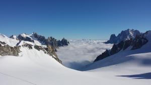 Italian Alps images -monte bianco - Ghiacciaio del Gigante - Mont Blanc