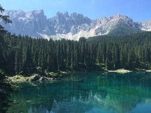 Lago di Carezza, Trentino-Alto Adige, Dolomites, Dolomiti