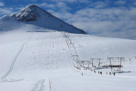 Passo dello Stelvio, summer ski italy