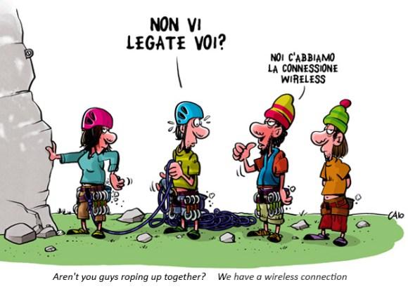 climbing, ski mountaineering, cartoons-caio - climbing