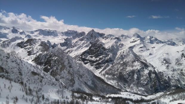 ski touring, ski mountaineering