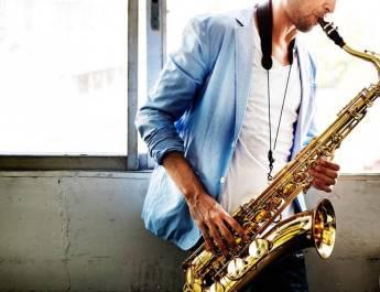 Alto Saxophone Jazz Music Artist