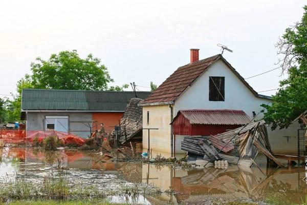 Natural Disaster Hit Home
