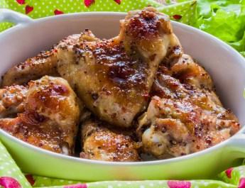 Woodstove Honey Mustard Chicken