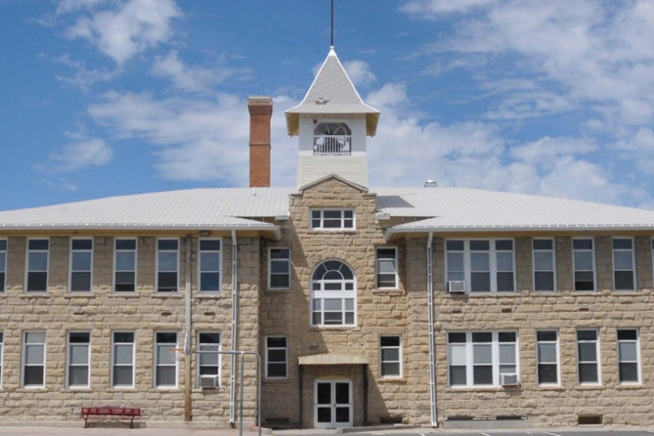 Central School in Roundup Montana