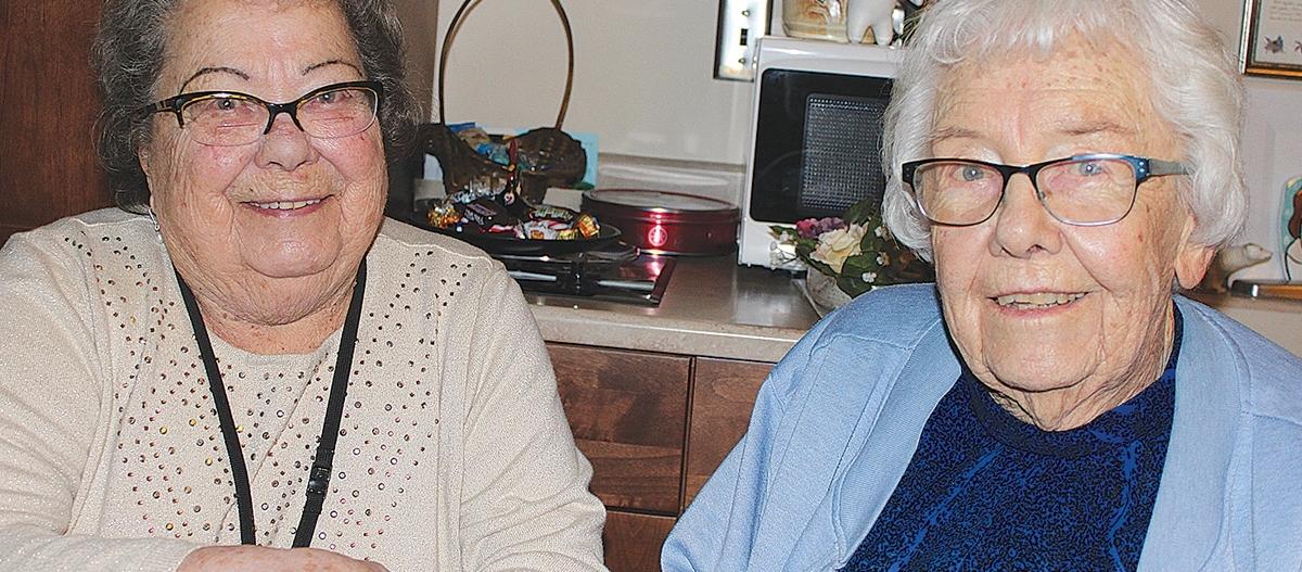 World War II Nurses from Opposite Sides