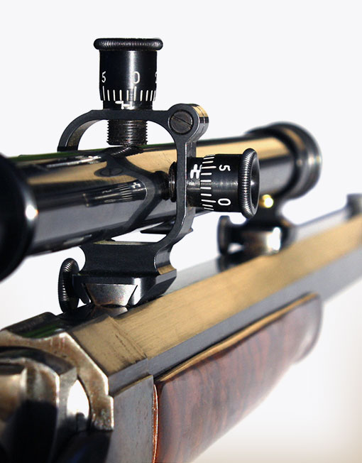 """Winchester """"B"""" Series Scope with No 2 Mount"""