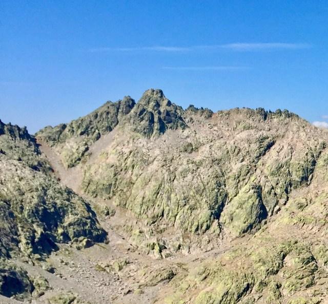 Pico Almanzor (2592 m).