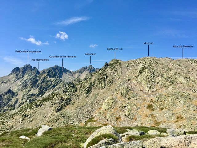 Vista O desde el Cerro de Navasomera.