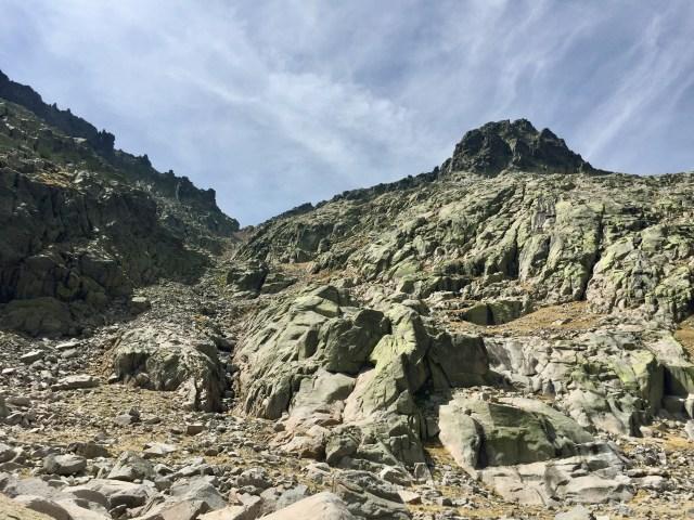Vista atrás desde la Hoya Antón.