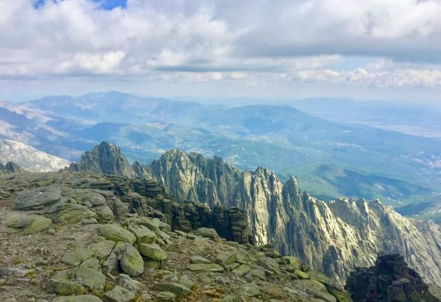 Cresta de Los Galayos.