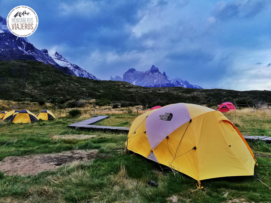 Circuito W Torres Del Paine Mapa : Trekking w torres del paine patagonia chile