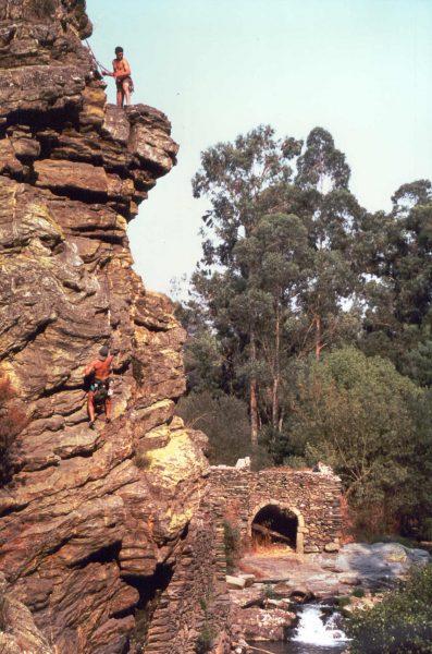 Escalada zona Valongo, Fraga Castelo