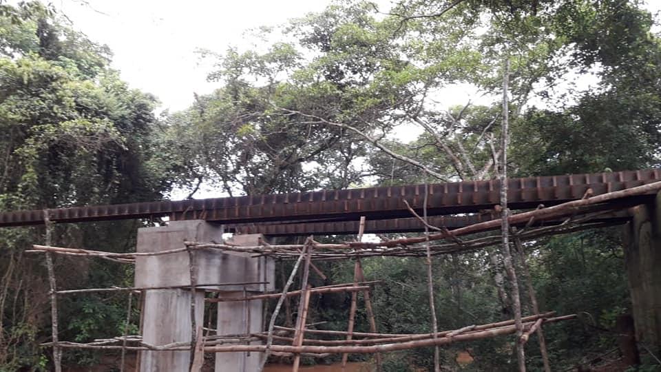 Aquisição de vigas de aço impulsionam construção da ponte na Biboca