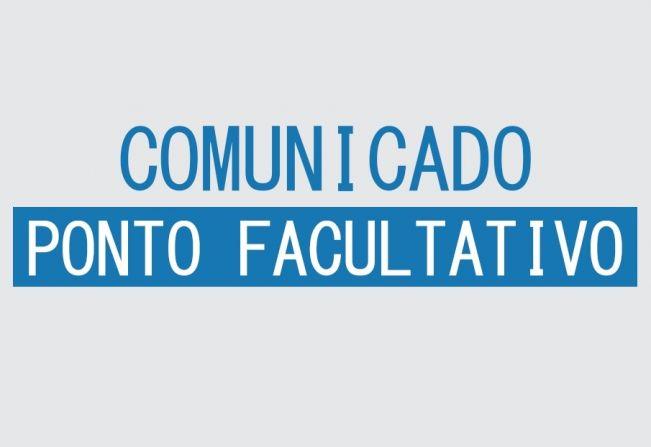 Administração decreta ponto facultativo segunda (4) e quarta-feira (6)