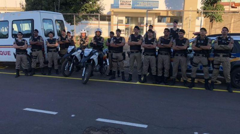 Polícia Militar de Vazante recebe reforço para Festa da Lapa 2019