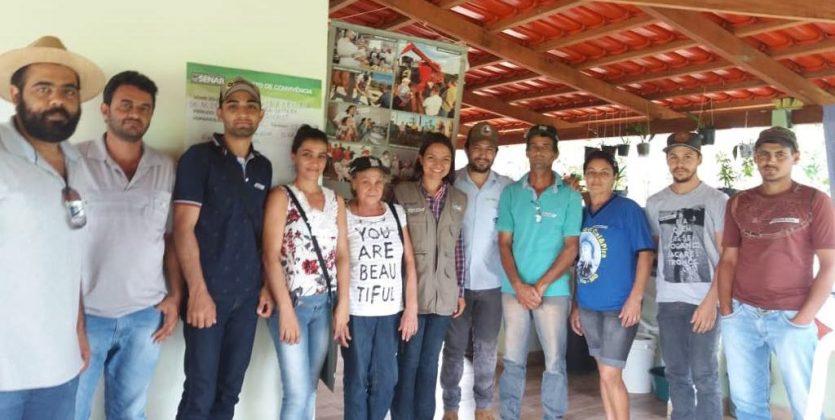 Produtores Rurais de Vazante aprendem sobre cria e recria de bezerras