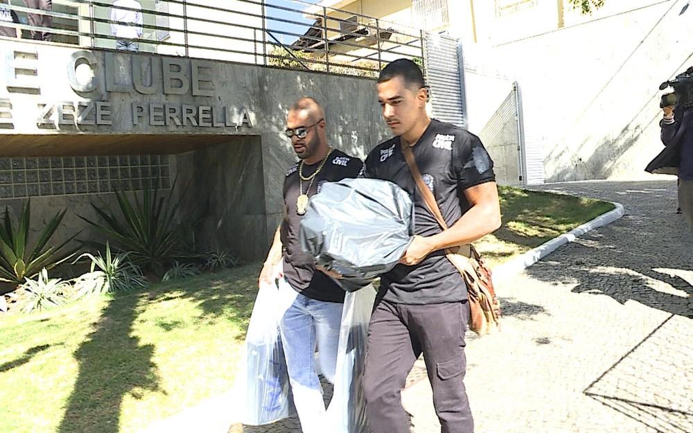 Às vésperas de clássico, Cruzeiro é alvo de operação da Polícia Civil