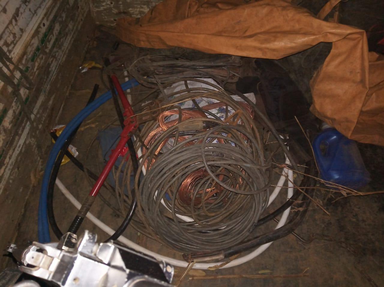 Polícia recupera material furtado em mineradora de Vazante e prende suspeitos