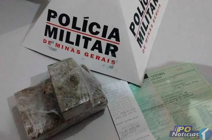 Polícia Rodoviária intercepta veículo que levava drogas para cidade de Lagamar