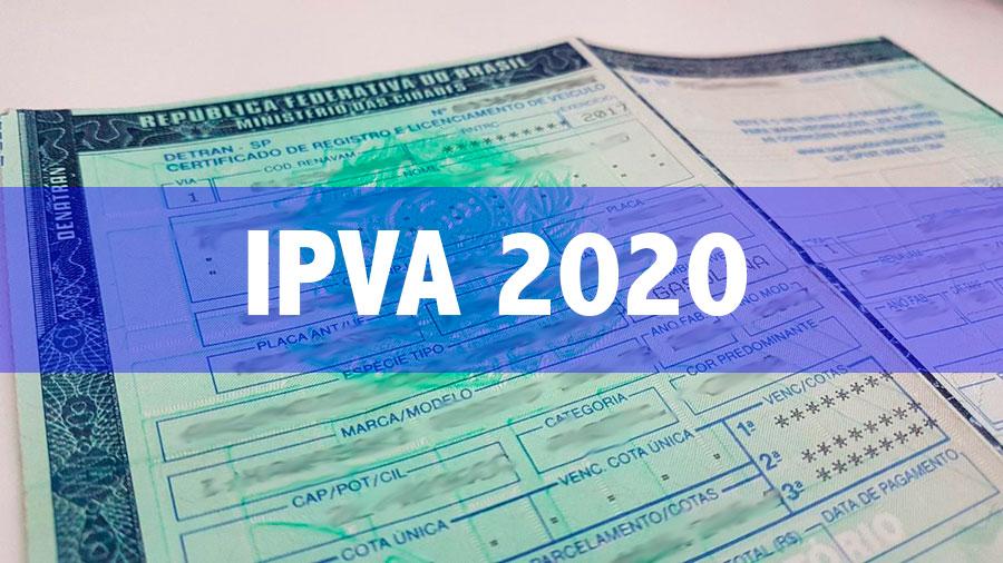 IPVA 2020 pode ficar até 9% mais barato; confira escala de pagamento em Minas
