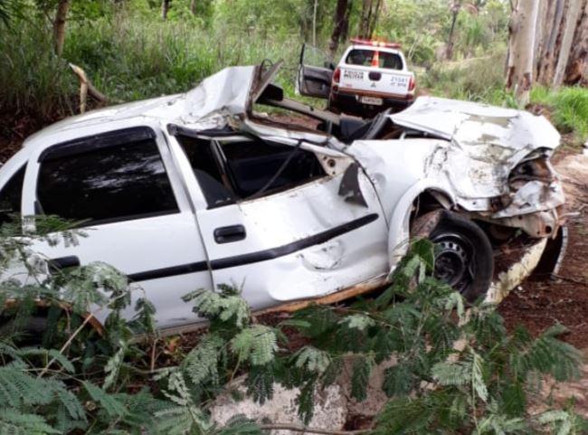 Homem fica ferido em acidente entre Vazante e Lagamar