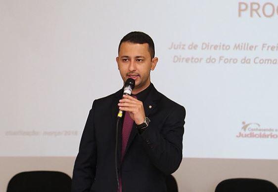 Juiz Miller Freire de Carvalho é promovido para comarca de São Gotardo e Comarca de Vazante tem novo titular
