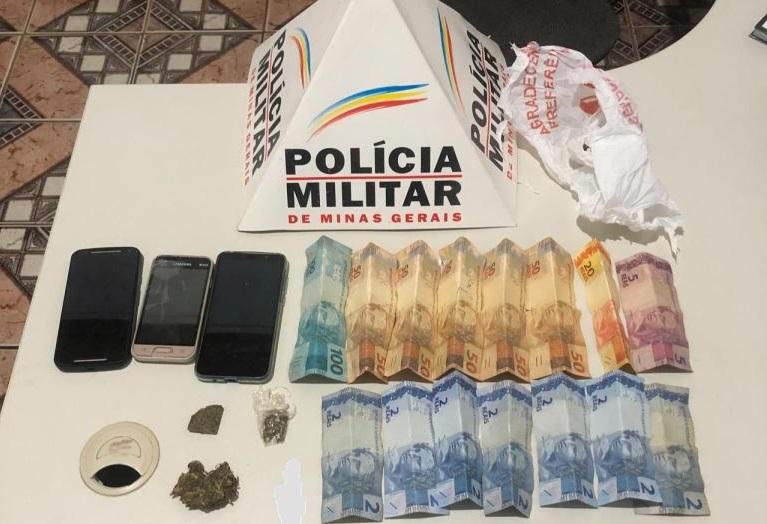 Suspeitos de tráfico de drogas são presos em Guarda-Mor