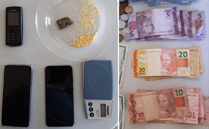 Polícia Civil prende rapaz suspeito de tráfico de drogas em Vazante