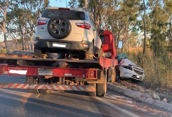 Grave acidente entre Lagamar e Vazante deixa uma vítima fatal