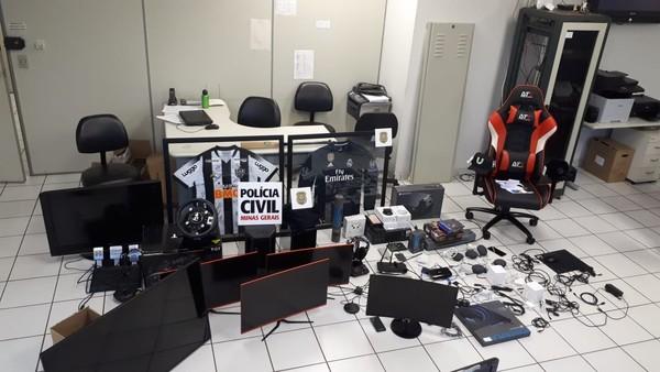 Mandados de busca e apreensão são cumpridos em Uberlândia durante Operação 'Stellio'
