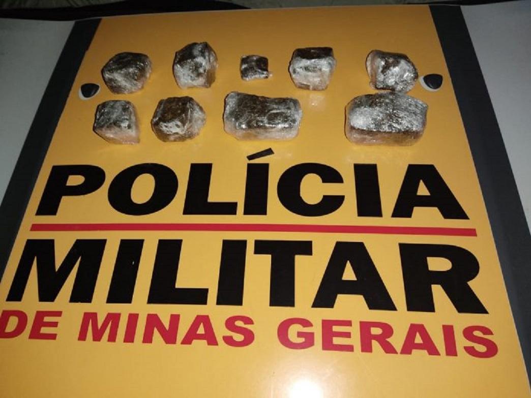 Motorista com maconha dentro do veículo é preso na MGC-354 em Lagamar