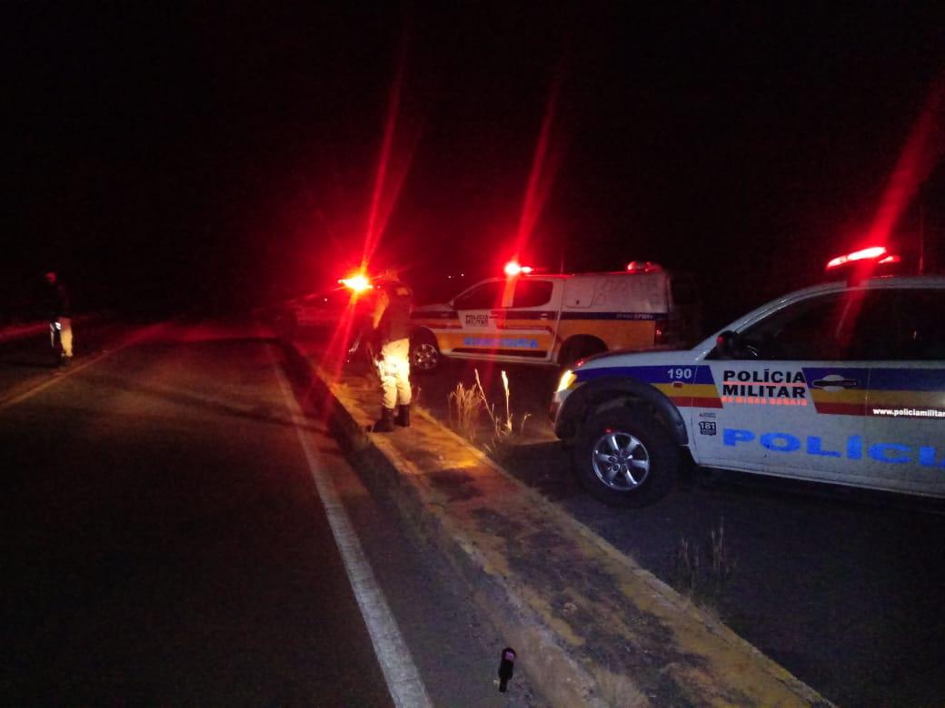 Condutor de Vazante é preso na MGC 354 em Lagamar durante fiscalização